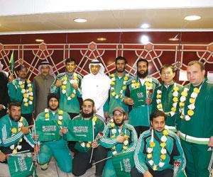 الرماية تصل الرياض ببطاقة الأولمبياد