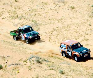 53 سائقا يتنافسون على لقب رالي حائل