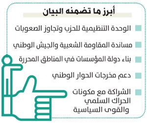 حزب صالح يدين استهداف السعودية ويتمسك بهادي