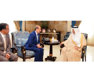 الفيصل يستقبل السفيرين اليمني والكوري