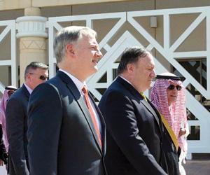 واشنطن ترحب بالتعاون السعودي ووزير خارجيتها يزور ت