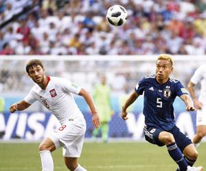 كولومبيا واليابان آخر المتأهلين إلى ثمن النهائي