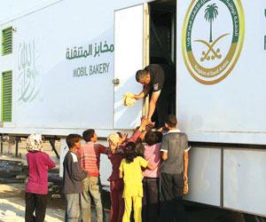 212 ألف رغيف يوميا للنازحين السوريين