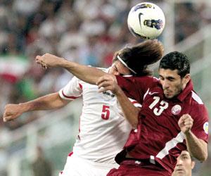 قطر تترقب الإيقاع بإيران لتعزيز حظوظها في المونديا