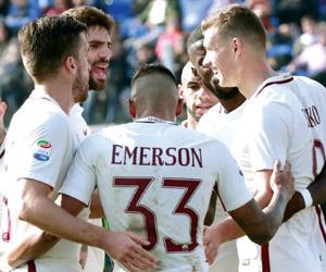 روما يقفز إلى وصافة الدوري الإيطالي