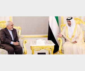 رئيس الإمارات يوافق على زيارة إيران