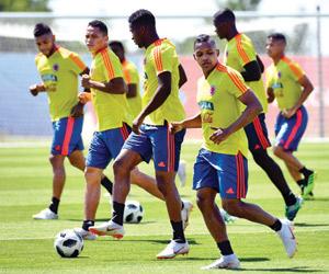 كولومبيا تتفوق على البرازيل والأرجنتين