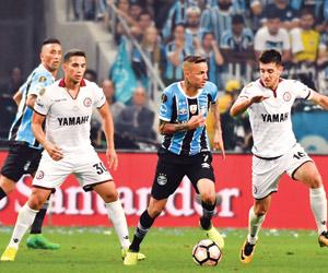 جريميو يقترب من لقب ليبرتادوريس