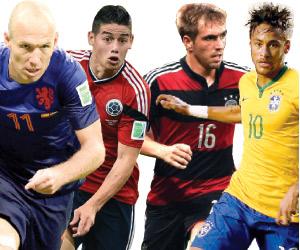 لاعبو ألمانيا الأكثر ترشيحا للكرة الذهبية.. والأرج