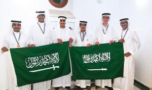 الموهوبون السعوديون يحصدون 5 ميداليات بأولمبياد ال