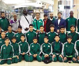 35 لاعبا يمثلون أخضر الكاراتيه في البسفور