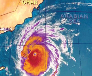 تباين في خطورة إعصار تشابالا