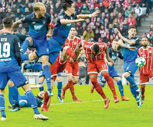 6 فرق تتصارع على الوصافة بألمانيا