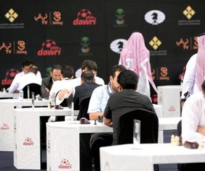 5 لاعبين يمثلون الشطرنج بالأولمبياد