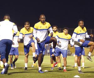 النصر يصل دبي ويختم تحضيراته