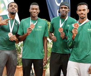 القوى ينهي المشاركة العربية بـ12 ميدالية