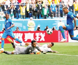 البرازيل ونيجيريا يكسبان كوستاريكا وأيسلندا