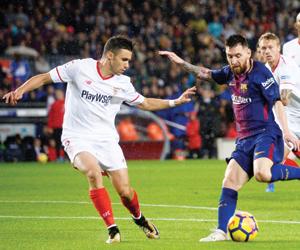 برشلونة والريال أمام خطر أشبيلية وليفانتي