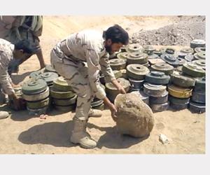مسام ينجح في انتزاع 41.5 ألف لغم باليمن