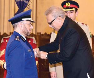 نيشان الامتياز العسكري الباكستاني للرويلي
