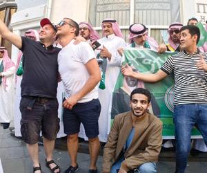 الزي السعودي يثير فضول جماهير المونديال