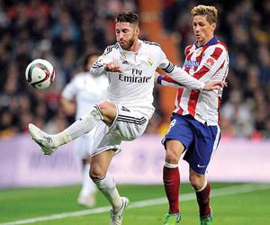 قمة بين الريال وأتلتيكو مدريد