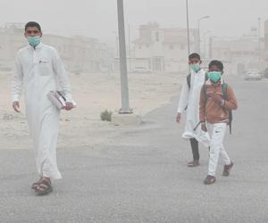 غبار الرياض يكشف غياب التنسيق بين التعليم والأرصاد
