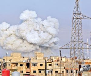 408 مدنيين قتلوا بسورية في أبريل