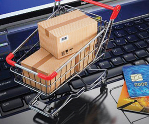 CNBC: نحو 90 %  من الشركات تنعش التجارة الإلكتروني
