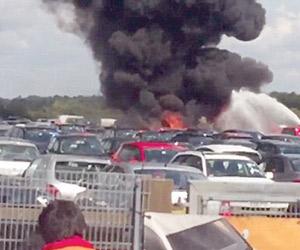 تحطم طائرة سعودية خاصة في بريطانيا