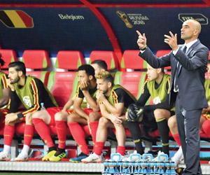 مارتينيز: الشجاعة سر انتصارات بلجيكا