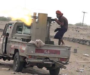 الميليشيات الحوثية تتحصن بصوامع الدقيق  بعد هزائمه