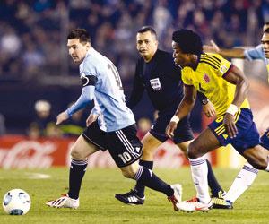 ميسي يعود لقيادة الأرجنتين أمام الإكوادور
