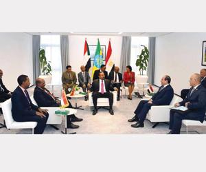 توافق مصري سوداني إثيوبي حول ملف مياه النيل