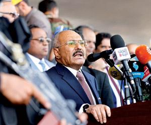 المخلوع يخيب آمال مشايخ اليمن ويرضخ للحوثيين