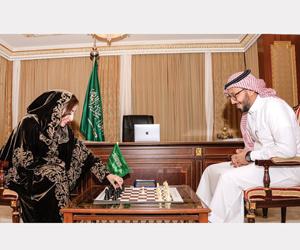 الشطرنج أول اتحاد سعودي ينشئ قسما نسائيا