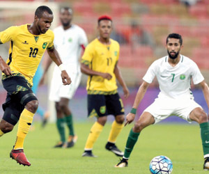 الأخضر يكتسح جامايكا في أولى ودياته