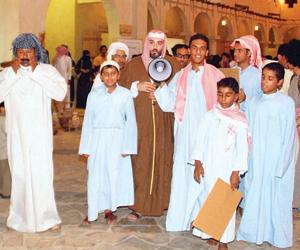 التحميدة ثقافة شعبية بعد ختم القرآن بالأحساء