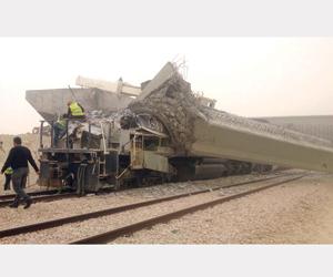بدء التحقيقات في حادثة قطار الشحن ببقيق