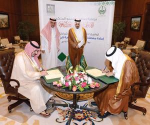 اتفاقية تعاون بين إمارة عسير وجامعة الملك خالد