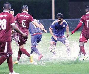 قرار الحكم إيقاف المباراة لسوء الأحوال الجوية قانو