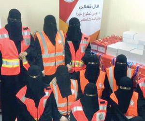 3500 مستفيد من برامج الهلال الأحمر بنجران خلال عام