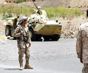 الشرعية تتقدم في باقم وتسيطر على مخزن صواريخ بصعدة