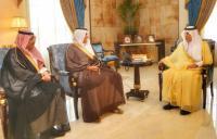 أمير مكة ونائبه يستعرضان خطة الطيران المدني لتشغيل