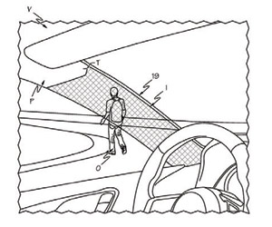 TOYOTA تحصد براءة اختراع قوائم أمامية شفافة