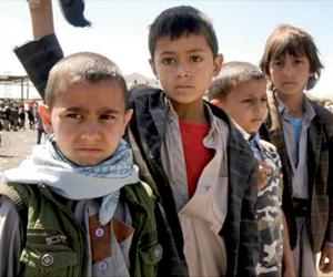 التحالف ينقذ عشرات الأطفال من حروب الحوثي