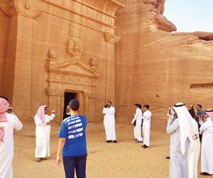 مدائن النبي صالح خلاف السياحة والمرشدين