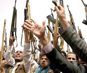 إيران تستغل وفد الحوثي لنقل جرحاها