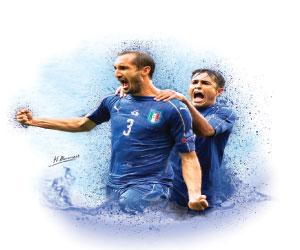 7أرقام مهمة بعد إطاحة إيطاليا بإسبانيا