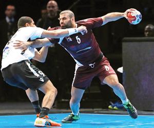 خسارة قطر أمام مصر بمونديال اليد